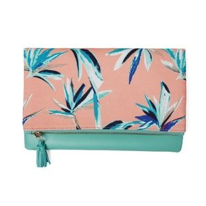 🎀NWT🎀Rachel Pally Fab Fit Fun Reversible Clutch